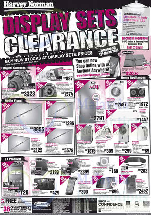 Featured image for Harvey Norman Notebooks, Smartphones, Furnitures & Other Offers 7 – 13 Mar 2015