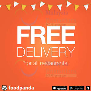Featured image for Foodpanda FREE Delivery For All Restaurants 1-Day Promo 30 Mar 2015