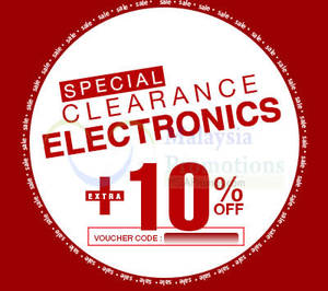 Featured image for Lazada 10% OFF Special Clearance Items Discount Coupon Code 31 Mar 2015