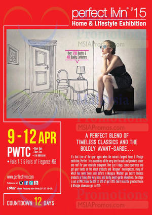 Featured image for Perfect Livin @ PWTC 9 – 12 Apr 2015