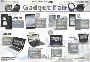 Featured image for Plaza Low Yat Gadget Fair 30 Mar – 5 Apr 2015