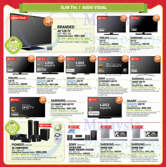 Featured image for SenQ Notebooks, Digital Cameras, Home Appliances, TVs & Phones Offers 1 - 31 Mar 2015