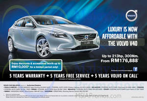 Featured image for Volvo V40 Offer 30 Mar 2015