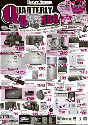 Featured image for Harvey Norman Notebooks, Digital Cameras, Furnitures & Other Offers 25 – 30 Apr 2015