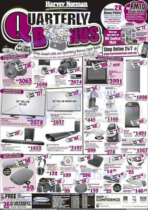 Featured image for Harvey Norman Notebooks, Digital Cameras, Furnitures & Other Offers 11 – 17 Apr 2015