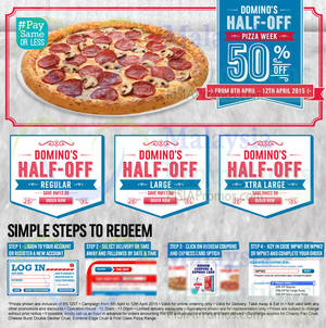 dominos pizza coupons codes 2019