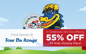 Featured image for HostGator Web Hosting 55% OFF Promo 4 – 7 May 2015