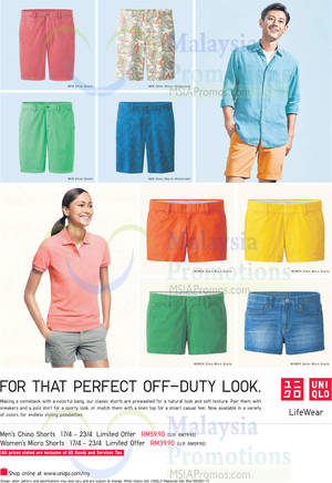Featured image for Uniqlo Nationwide Promo Offers 17 – 23 Apr 2015