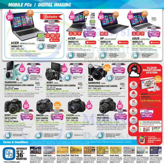 Featured image for SenQ Notebooks, Digital Cameras, Home Appliances, TVs & Phones Offers 1 - 30 Apr 2015