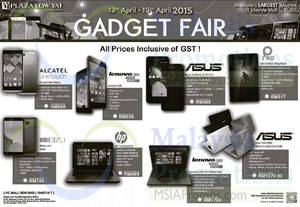 Featured image for Plaza Low Yat Gadget Fair 13 – 19 Apr 2015
