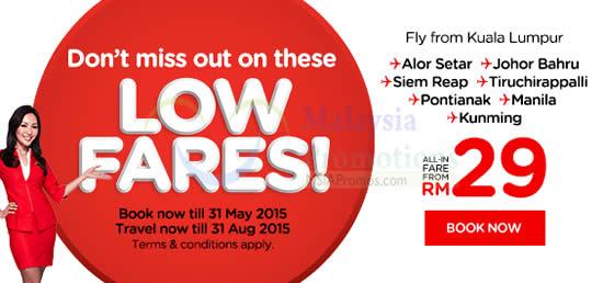 Air Asia Low 25 May 2015