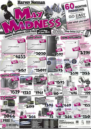 Featured image for Harvey Norman Notebooks, Digital Cameras, Furnitures & Other Offers 23 – 29 May 2015