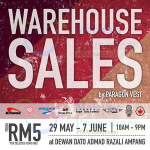 Featured image for Brooks Running Warehouse SALE @ Ampang 30 May – 7 Jun 2015