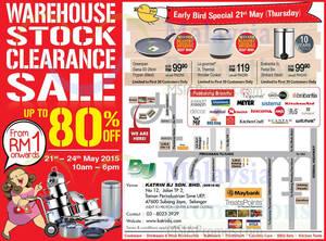 Featured image for Katrin BJ Warehouse Stock Clearance SALE @ Subang Jaya 21 – 24 May 2015