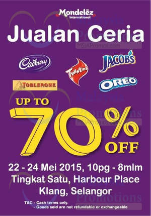 Featured image for Modelez Chocolate Sale Sale @ Klang 22 – 24 May 2015