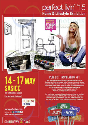 Featured image for Perfect Livin Home & Lifestyle Exhibition @ Kuantan 14 – 17 May 2015