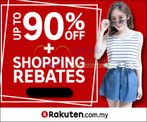 Featured image for Rakuten RM5 to RM10 OFF Storewide Coupon Codes 24 Jan 2016