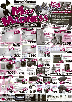 Featured image for Harvey Norman Notebooks, Digital Cameras, Furnitures & Other Offers 16 – 22 May 2015