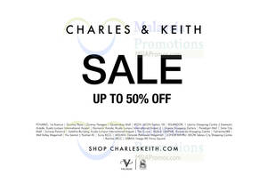Featured image for Charles & Keith SALE 12 Jun 2015