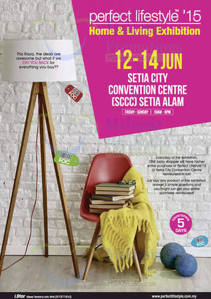 Featured image for Perfect Lifestyle @ Setia City Convention Centre 12 – 14 Jun 2015