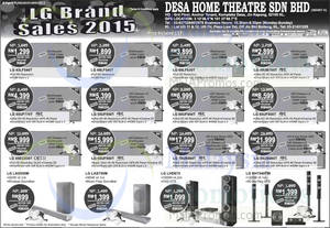 Featured image for LG TV Offers @ Desa Home Theatre 1 Aug 2015