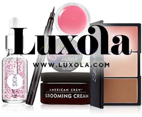 Luxola Logo 22 Jul 2015