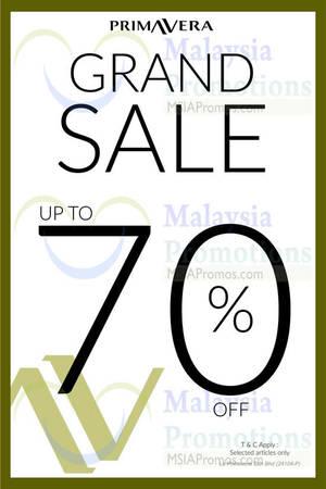 Featured image for Primavera Grand Sale @ Nationwide 29 Jul – 31 Aug 2015