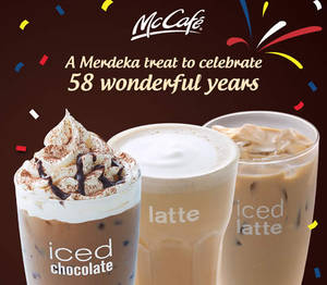 Featured image for McDonald's McCafe Beverages Discount Coupons 24 – 31 Aug 2015