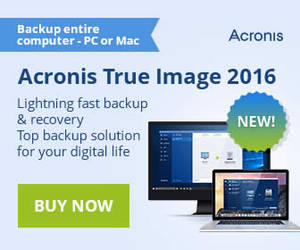 Featured image for Acronis $30 to $50 Off True Image Backup Software Promotion From 11 Dec 2015