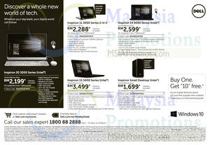 Featured image for Dell Notebooks & Desktop PC Offers 28 Sep – 8 Oct 2015