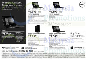 Featured image for Dell Notebooks & Desktop PC Offers 8 – 10 Sep 2015