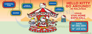 Featured image for Hello Kitty Go Around Tickets Now Available 4 Sep 2015