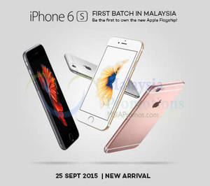 Featured image for Apple iPhone 6S & iPhone 6s Plus Now Available 25 Sep 2015