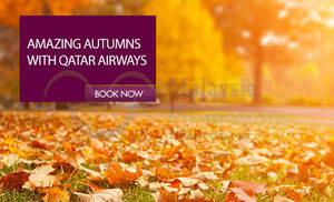 Featured image for Qatar Airways fr RM2400 Autumn Fares 30 Sep – 12 Oct 2015