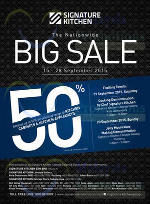 Signature Kitchen Nationwide Big Sale 15 U2013 28 Sep 2015