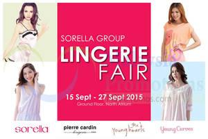 Featured image for Sorella Group Lingerie Fair @ Viva Home 15 – 27 Sep 2015