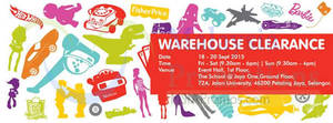 Featured image for Mattel Warehouse Clearance @ The School Jaya One 18 – 20 Sep 2015