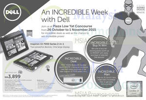 Featured image for Dell Roadshow @ Plaza Low Yat 26 Oct – 1 Nov 2015