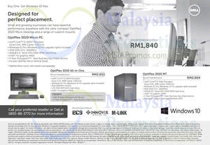 Featured image for Dell Desktop PC & AIO Desktop PC Offers 7 Oct 2015