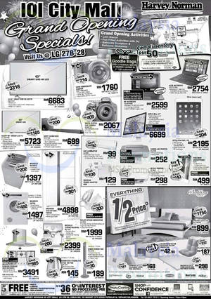 Featured image for Harvey Norman Grand Opening Specials @ IOI City Mall 10 – 15 Oct 2015