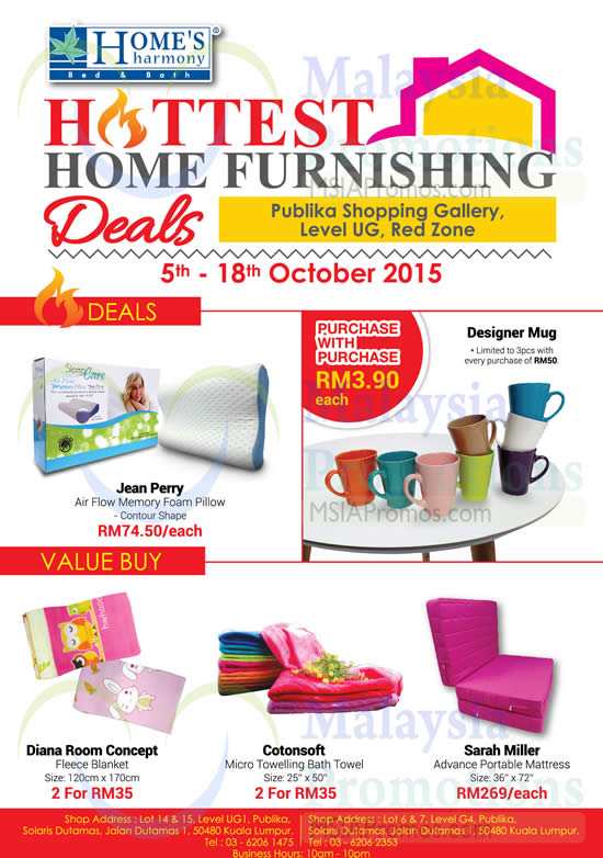 Home's Harmony Furnishing Deals @ Publika Shopping Gallery 5
