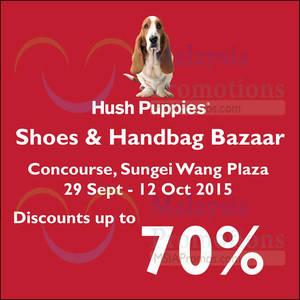 Featured image for Hush Puppies Shoes & Handbag Bazaar @ Sungei Wang Plaza 6 – 12 Oct 2015