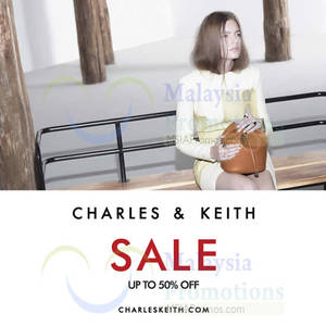 Featured image for Charles & Keith SALE From 20 Nov 2015