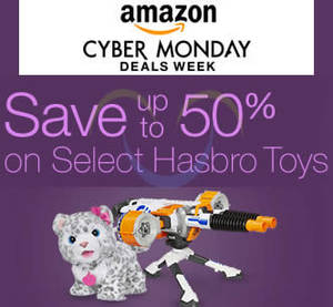 Featured image for Hasbro up to 50% Off Toys 24hr Promo 30 Nov – 1 Dec 2015