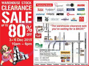 Featured image for Katrin BJ Warehouse Stock Clearance SALE @ Subang Jaya 3 – 6 Dec 2015