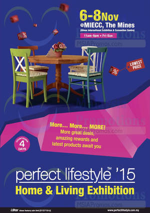 Featured image for Perfect Lifestyle @ MIECC 6 – 8 Nov 2015