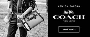 Featured image for Coach Products Now Available @ Zalora From 21 Dec 2015