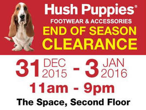 Featured image for Hush Puppies Raya Clearance @ Citta Mall 31 Dec 2015 – 3 Jan 2016