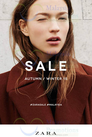 Featured image for Zara Malaysia SALE From 24 Dec 2015