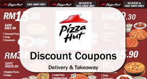 Featured image for Pizza Hut Delivery Discount Coupons 1 – 31 May 2016
